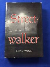 STREETWALKER - FIRST AMERICAN EDITION BY ANONYMOUS