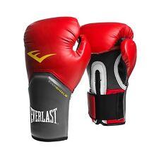 Everlast Pro Style Elite Boxing Training Gloves ~ New ~ Red ~ 12 oz ~ Level Ii