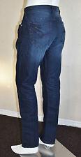 GUESS Men's Brit Rocker Narrow Leg in Indigo Wash sz 32