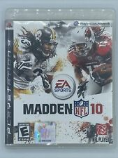 Madden NFL 10 (Sony PlayStation 3 PS3 - Complete w/ Manual)