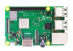 Raspberry Pi 3 B 1.2Ghz quad core, 1GB RAM, on-board wireless & LAN