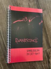 Evanescence 2004 Summer Tour Itinerary