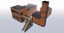 FASCIO di fabbrica Industriale #1 28 mm KIT MDF TAGLIO LASER I009