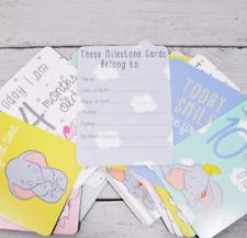 Disney Magical Beginnings Baby 30 Milestone Cards Baby Shower New Baby Gift