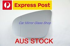 LEFT PASSENGER SIDE VW GOLF MK6 2009-2012 MIRROR GLASS WITH HEATED BACK PLATE