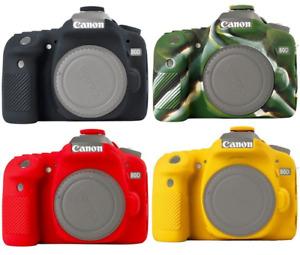 Nice Soft Silicone Rubber Camera Body Cover Case Skin Camera case for Canon 80D