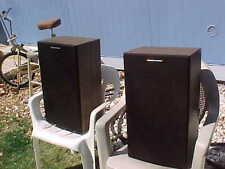 Vintage PAIR Marantz Speaker System Series 25/250, 8 ohm Impedance Speakers