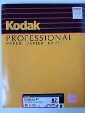 "Kodak P-Max Art Rc V2 photographic paper. 8"" x 10"" 25 sheets. Double-matt Sealed"