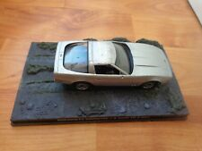 1/43 JAMES BOND 007 COLLECTION CHEVROLET CORVETTE VIEW TO A KILL #37 USED