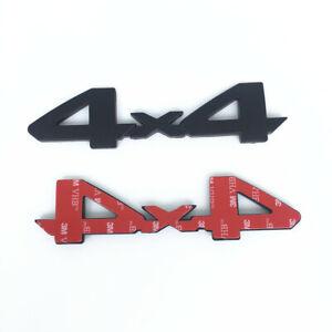 4x4 LOGO BADGE EMBLEM OEM REAR TAILGATE FIT FOR TOYOTA TACOMA TUNDRA 75473-0C030