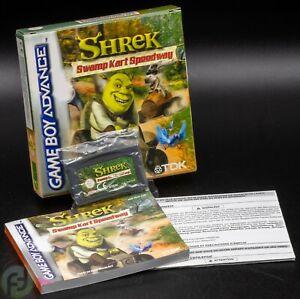 Shrek Swamp Kart Speedway - Game Boy Advance - OVP - CIB