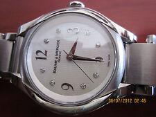 Ladies Baume & Mercier Ilea White Dial Watch MOAO8769 Stainless Steel