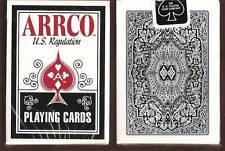 1 DECKS black Arrco US Regulation playing cards S0999529(11)