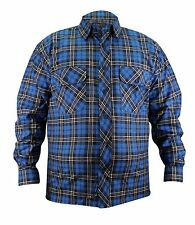 Mens High Quality Flannel Lumberjack Check Cotton Casual Work Shirt Top 3xl Small Check