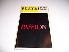 1994 PLYMOUTH THEATRE PLAYBILL - PASSION - DONNA MURPHY & JERE SHEA