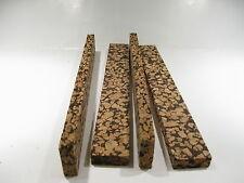 """Cork Blocks Light Mix Burl 12"""" X 1 1/2"""" X 1/2"""" Lot Of 2"""