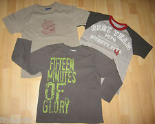 YCC, CFK - Lot de 3 t-shirts gris/marron/beige - Taille 10 ans - TBE !