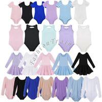 Toddler Girls Kids Gymnastics Xmas Leotard Ballet Tutu Skirt Dancewear Dresses