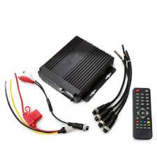 4 Canales DVR Grabador de Vídeo Digital Móvil para sistemas de seguridad CCTV en Coche