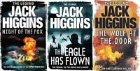 JACK HIGGINS ___ 3 BOOK SET ___ BRAND NEW ___ FREEPOST UK