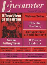 ENCOUNTER MAGAZINE (February 1971) PAUL THEROUX ON HEMINGWAY - MALCOLM -BRADBURY
