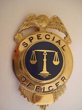 INSIGNE AGENT SPECIAL OFFICER POLICE USA
