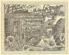 FALL TRACTOR COUNTRY Wood Mounted Rubber Stamp IMPRESSION OBSESSION H2509 NEW