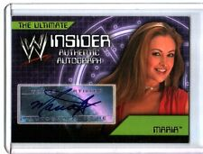 WWE Maria 2006 Topps Ultimate Insider Authentic Autograph Card