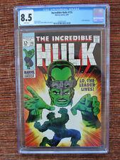 Incredible Hulk 115 Cgc 8.5 The Leader
