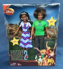 High School Musical 2 Taylor And Chad Dolls-New In Box-2007 Barbie Doll