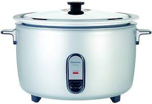 NEW Panasonic SR-GA721L 40-cup Uncooked Commercial Rice Cooker NSF App 208V-220V