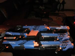NERF LOT OF (6) High-End Blaster Guns ALL IN GREAT WORKING PREOWNED AND TESTED