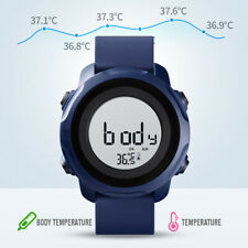 Reloj Deportivo SKMEI HOMBRE RELOJ de Pulsera LED Digital Cuerpo/Temperatura ambiente miden 1682 1x