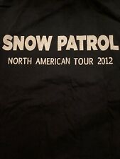 Snow Patrol Upstaging Stage Crew Tour Shirt L U2 🔥🤘