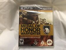 Medal of Honor Warfighter Project Honor Edition PlayStation 3 PS3 Game Brand New