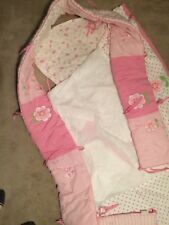 baby girl crib bedding set pink
