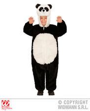CARNEVALE COSTUME PANDA IN PELUCHE SOFT BAMBINO 2/3 ANNI - 24/36 MESI