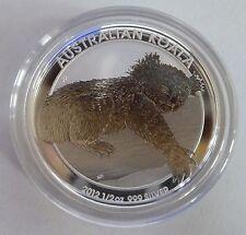 2012 Australian Koala 1/2 oz .999 Silver Bullion Coin