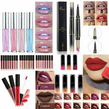 Waterproof Pencil Lipstick Pen Matte Lip Liner Long Lasting Makeup Multifunct
