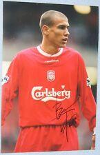 Bruno CHEYROU Signé Liverpool 12x8