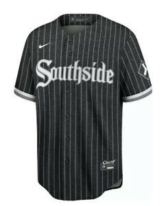 2021 Nike Blank City Connect Chicago White Sox Jersey Southside XL Authentic