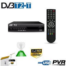 DVB-T2 Receiver U2C H.264 Full HD 1080p HEVC USB Mediaplayer Terrestrial Digital