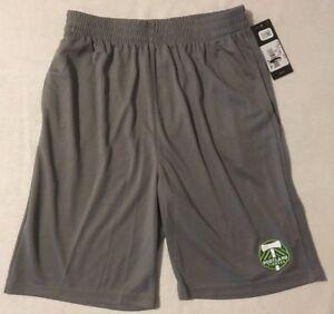 NWT MLS Portland Timbers Boys Shorts Large 14/16