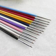 Nail Art Liner Brushes Pens UV Gel Polish Paint Drawing Liner Brush DD