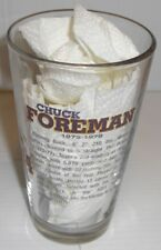 Miller Lite MN Vikings 50 Years Of Greatness Beer Glass Chuck Foreman