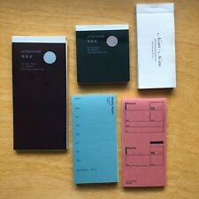 Classiky Drop Around Notepad Letter Paper Memo Pad 5 Piece Lot Stationery Japan