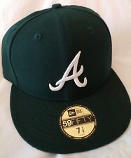 New Era Atlanta Braves 59Fifty Green 7 1/8 Authentic Fitted