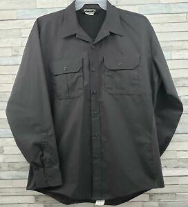Vertx Phantom LT Tactical Shirt Mens Long Sleeve Gray XL EUC Ventilated Shirt