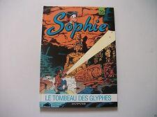 BD Sophie - N°20 - Le Tombeau Des Glyphes - EO - Jidéhem
