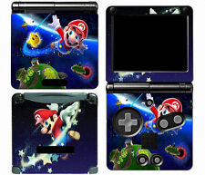 Mario 005 Vinyl Decal Skin Cover Sticker for Game Boy Advance GBA SP